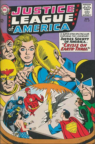 Justice League of America (1960) 29-A by DC