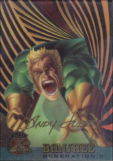 1995 Fleer Ultra X-Men All Chromium (Gold Signature Parallel Base Set) 29-A by Fleer