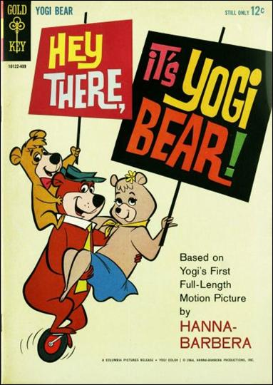 Hey There, It's Yogi Bear nn-A by Gold Key