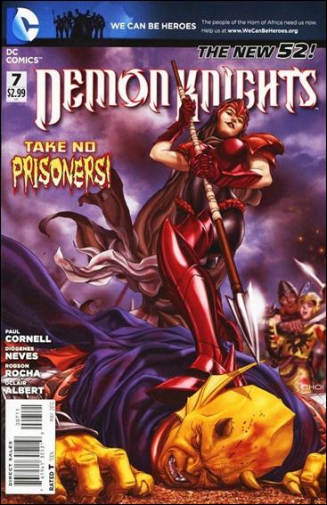 Demon Knights 7-A by DC