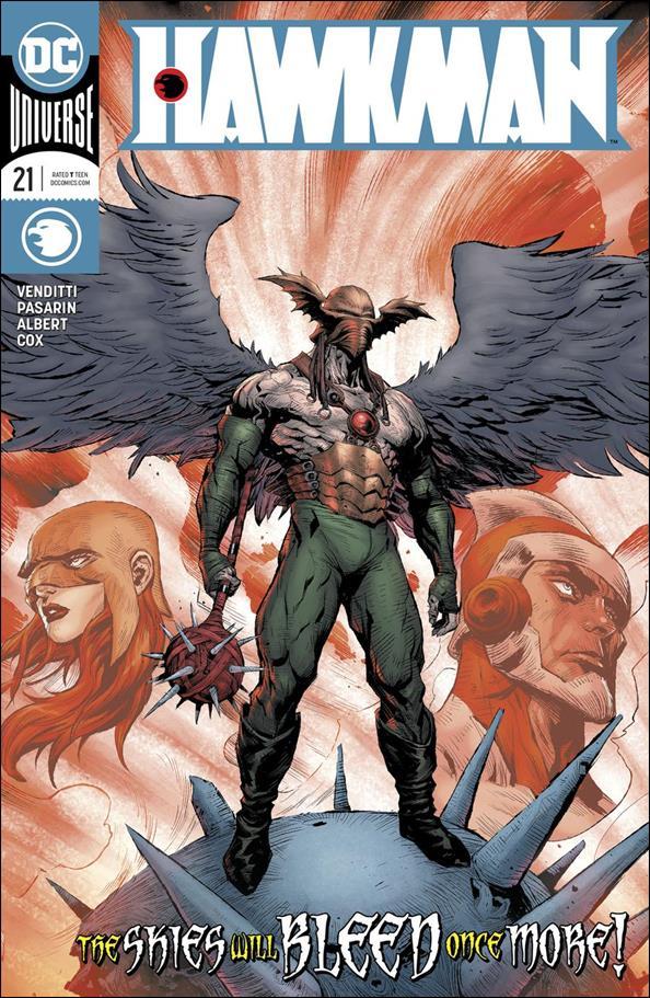 Hawkman (2018) 21-A by DC