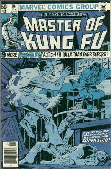 Master of Kung Fu 96-A by Marvel