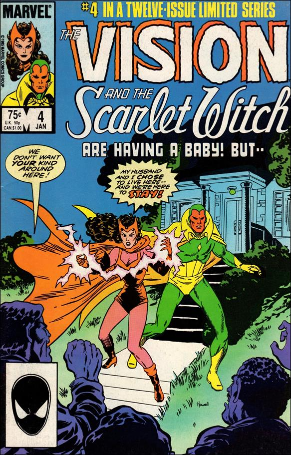 Vision and the Scarlet Witch (1985) 4-A by Marvel