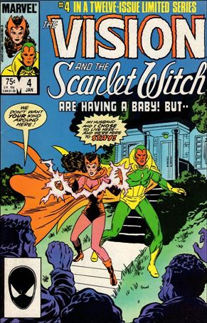 Vision and the Scarlet Witch (1985) 4-A