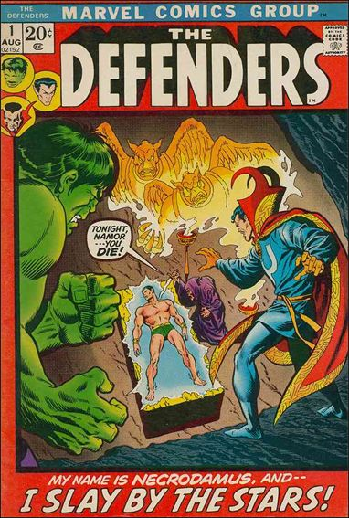 Defenders (1972) 1-A by Marvel
