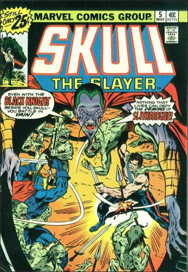 Skull the Slayer 5-A by Marvel