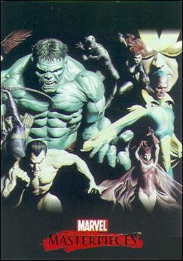2007 Marvel Masterpieces (Ross Splash Subset) ROSS 3-A by SkyBox