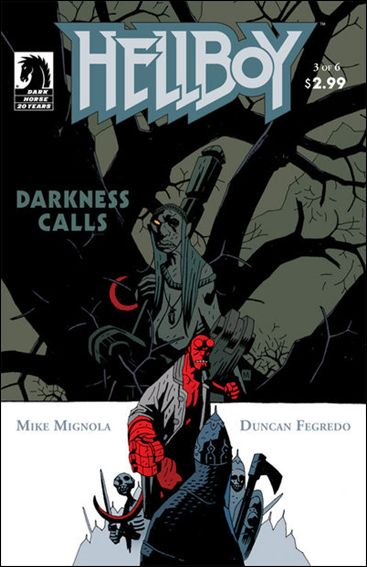 Hellboy: Darkness Calls 3-A by Dark Horse