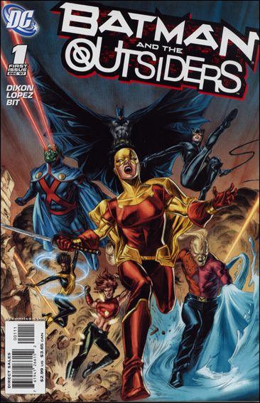 Batman and the Outsiders (2007) 1-A by DC