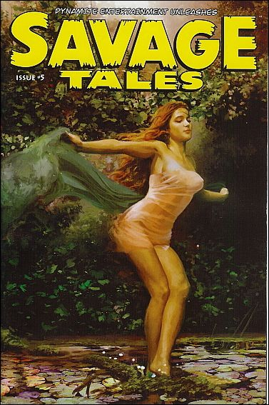 Savage Tales (2007) 5-A by Dynamite Entertainment