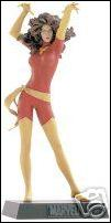 Classic Marvel Figurine Collection (UK) Phoenix (Red and Yellow Costume) by Eaglemoss Publications