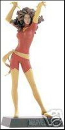 Classic Marvel Figurine Collection (UK) Phoenix (Red and Yellow Costume)