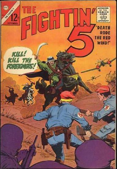 Fightin' 5 34-A by Charlton