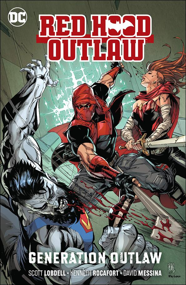 Red Hood: Outlaw 3-A by DC