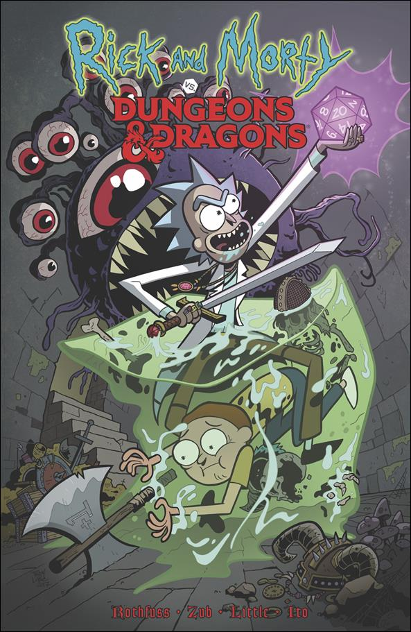 Rick and Morty vs Dungeons & Dragons nn-A by IDW