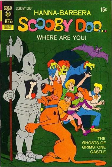 Scooby Doo, Where Are You? (1970) 10-A by Gold Key