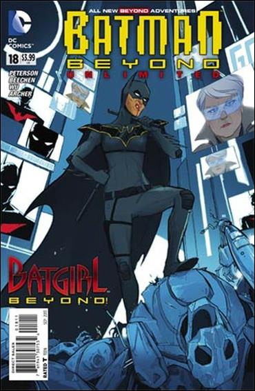 Batman Beyond Unlimited 18-A by DC