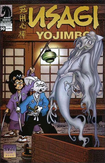 Usagi Yojimbo (1996) 90-A by Dark Horse