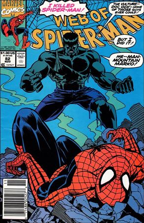 Web of Spider-Man (1985) 82-A