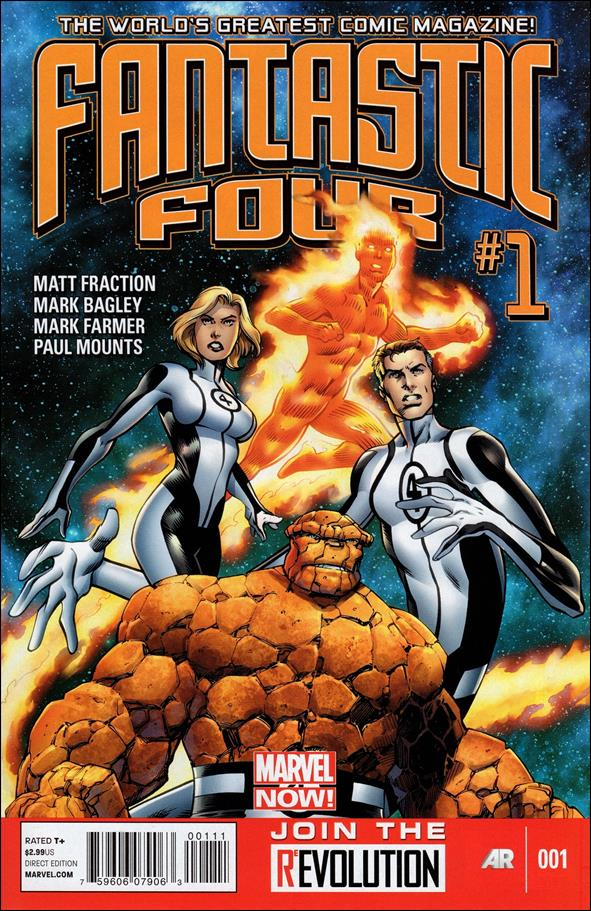 Fantastic Four (2013) 1-A by Marvel