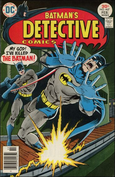 Detective Comics (1937) 467-A by DC