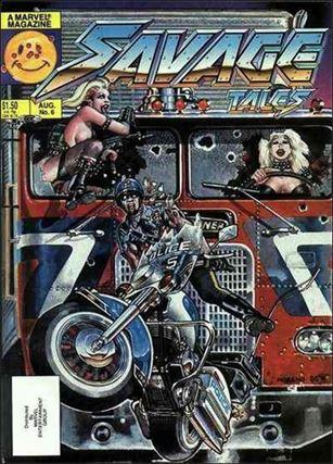 Savage Tales (1985) 6-A