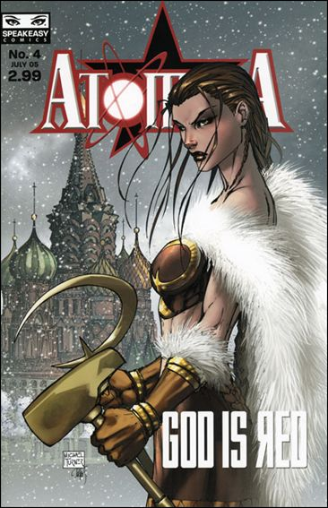 Atomika 4-A by Mercury Comics