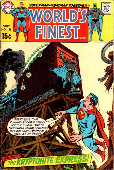 World's Finest Comics 196-A by DC