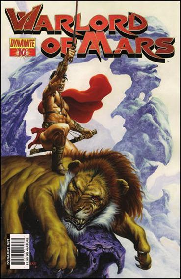 Warlord of Mars 10-A by Dynamite Entertainment