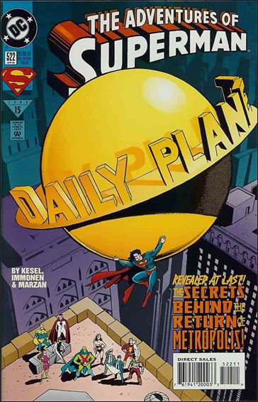Adventures of Superman (1987) 522-A by DC
