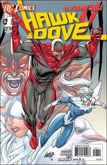 Hawk and Dove (2011) 1-A by DC