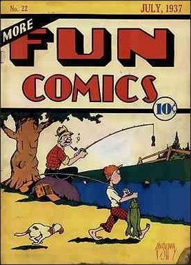 More Fun Comics 22-A by DC