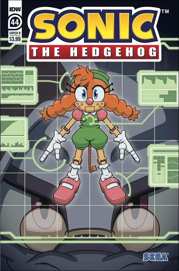 Sonic the Hedgehog (2018) 44-B by IDW
