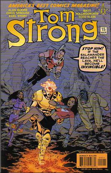 Tom Strong 15-A by America's Best Comics