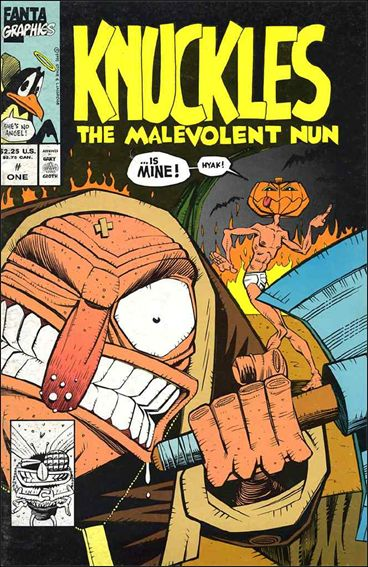 Knuckles the Malevolent Nun 1-A by Fantagraphics