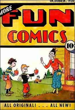 More Fun Comics 14-A by DC