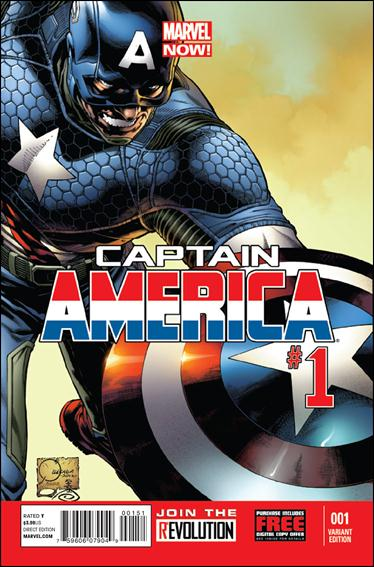 Captain America (2013) 1-D by Marvel