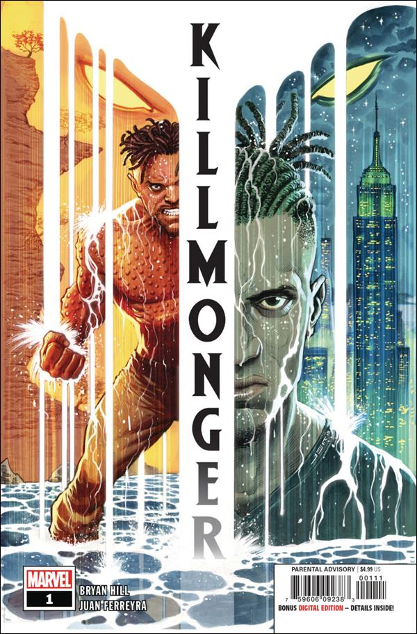 Killmonger 1-A by Marvel