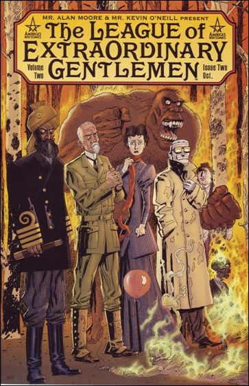 League of Extraordinary Gentlemen (2002) 2-A by America's Best Comics