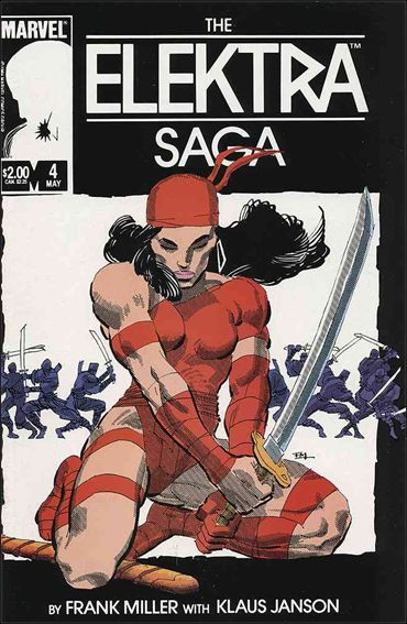 Elektra Saga 4-A by Marvel