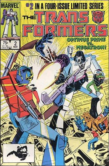 Transformers (1984) 2-B by Marvel