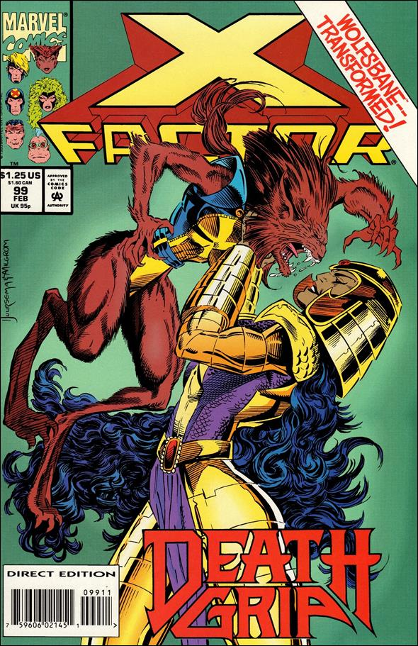 X-Factor (1986) 99-A by Marvel