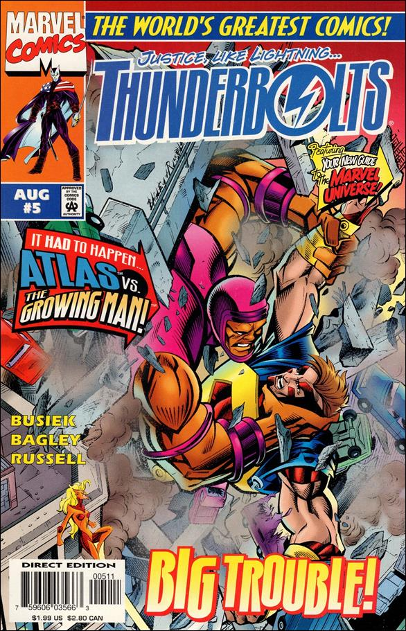 Thunderbolts (1997) 5-A by Marvel
