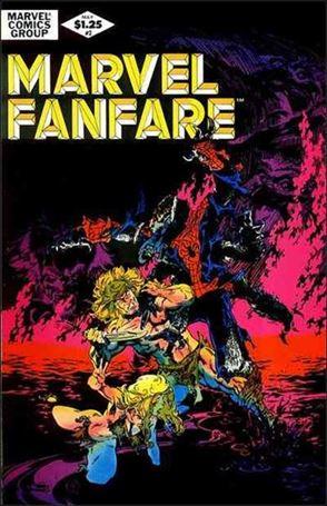 Marvel Fanfare (1982) 2-A