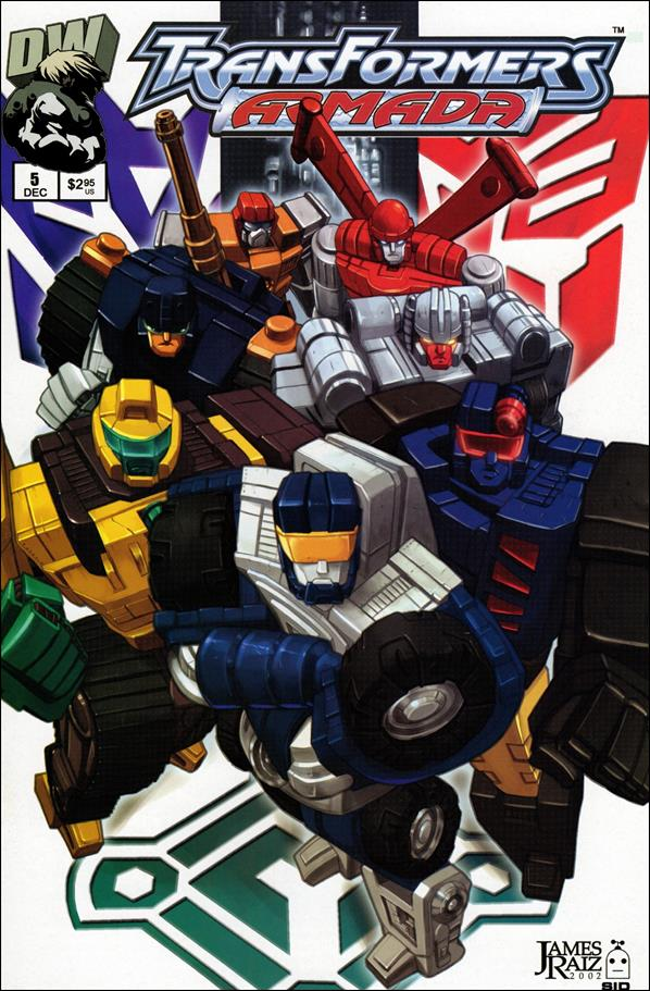 Transformers: Armada (2002) 5-A by Dreamwave