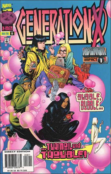 Generation X 18-A by Marvel