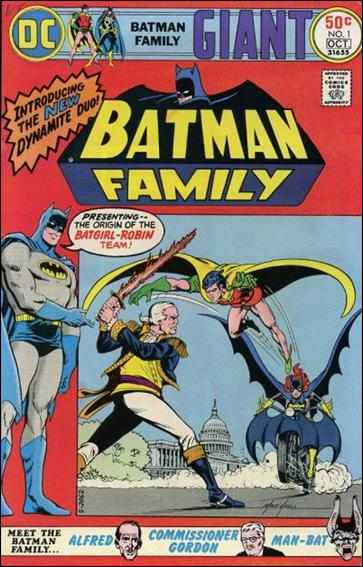 Batman Family 1-A by DC