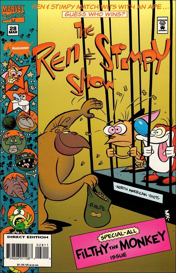 Ren & Stimpy Show 28-A by Marvel