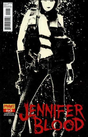 Jennifer Blood 15-A by Dynamite Entertainment