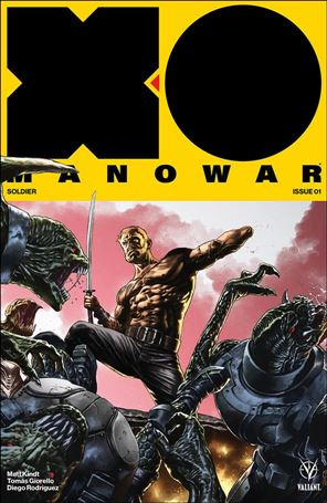 X-O Manowar (2017) 1-D